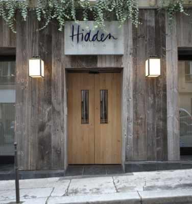 Hidden Hotel - Entrance